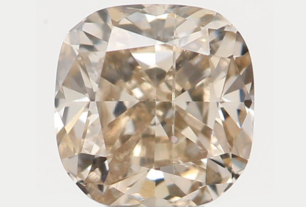 Natural Loose Diamond Cushion Brown Color I1 Clarity 3.20 MM 0.17 Ct L7388