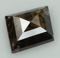 Natural Loose Diamond Kite Brown Color I3 Clarity 6.30 MM 0.90 Ct KR1816