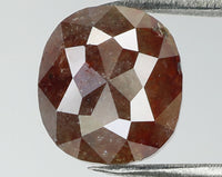 Natural Loose Diamond Oval Brown Color I3 Clarity 7.50 MM 1.61 Ct L7707