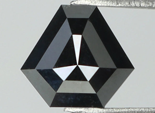 Natural Loose Diamond Triangle Black Color I3 Clarity 5.80 MM 0.57 Ct L7726