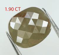 1.90 Ct Natural Loose Diamond Oval Grey Color I3 Clarity 8.00 MM L7824