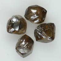 Natural Loose Diamond Rough Brown Color I3 Clarity 4 Pcs 1.98 Ct KR1905