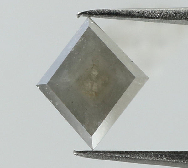 1.00 Ct Natural Loose Diamond Kite Grey Color I3 Clarity 9.10 MM L7955