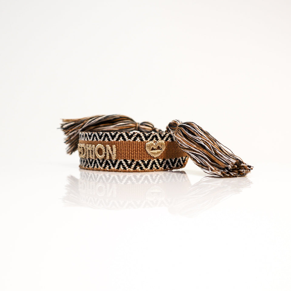 Woven friendship bracelet Indian Style
