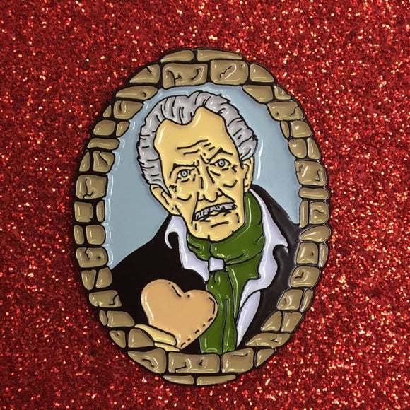 Vincent Price Enamel Pin