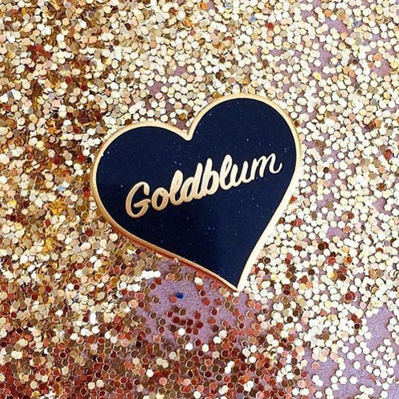 Goldblum Enamel Pin
