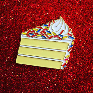 Pie Pie My Darling Funfetti Enamel Pin
