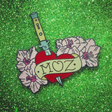Moz Lover Combo Pack! *Two* Morrissey Enamel Pins.