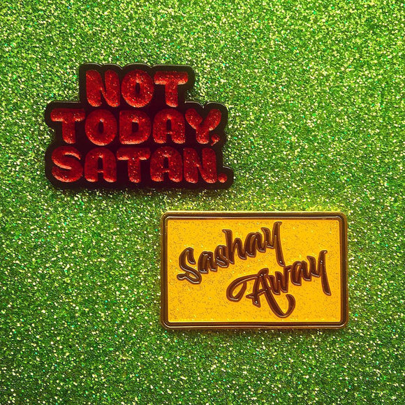 Sashay Away + Not Today, Satan = The RuPack!