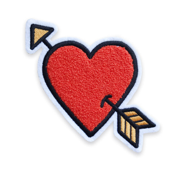 Lovestruck Peel & Stick Chenille Patch