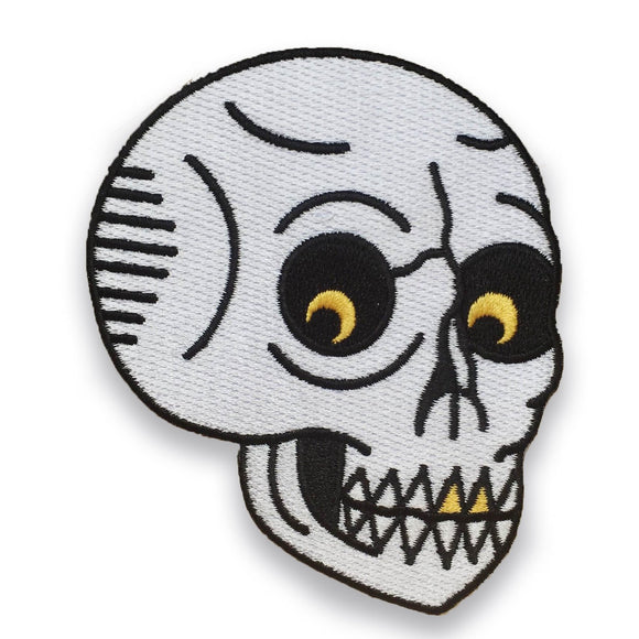 Menacing Skull Patch