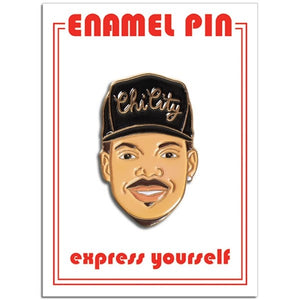 Chance the Rapper Enamel Pin