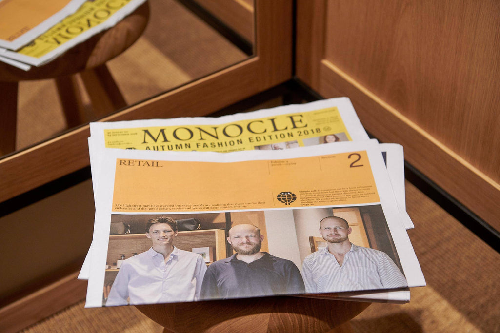 On The Cover of Monocle