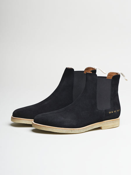 Loyalty Offer Chelsea Boot, Black Suede