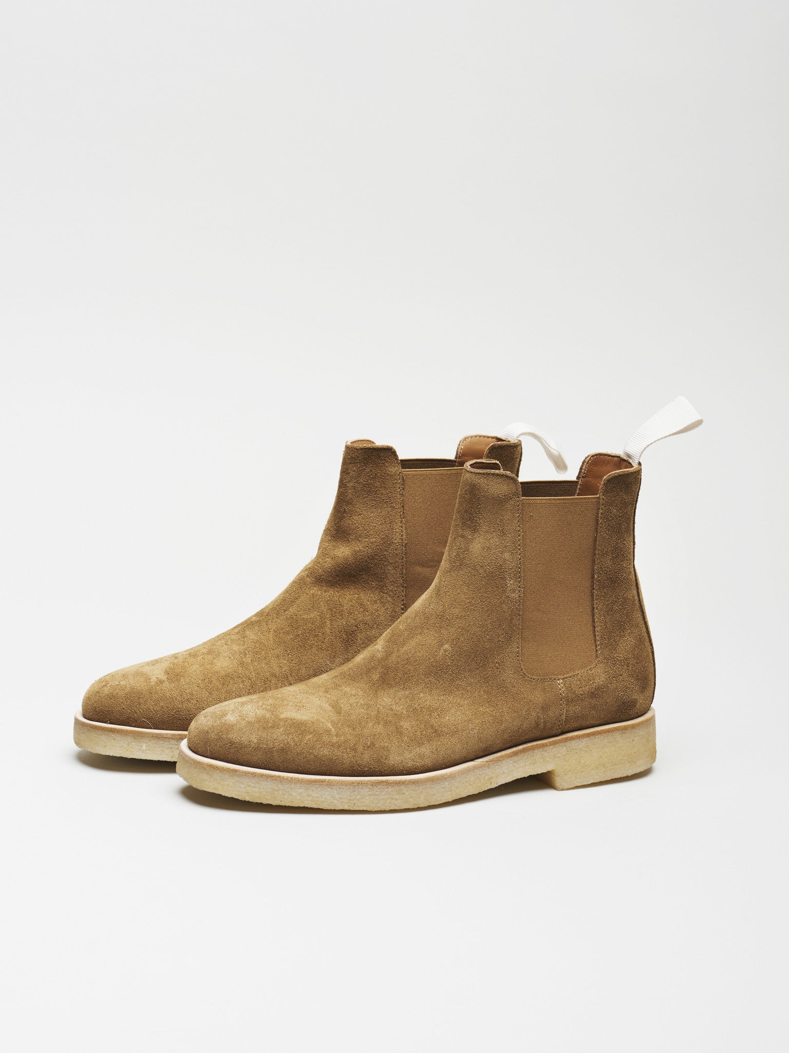 Woman Chelsea Boot, Tobacco Suede - Goods