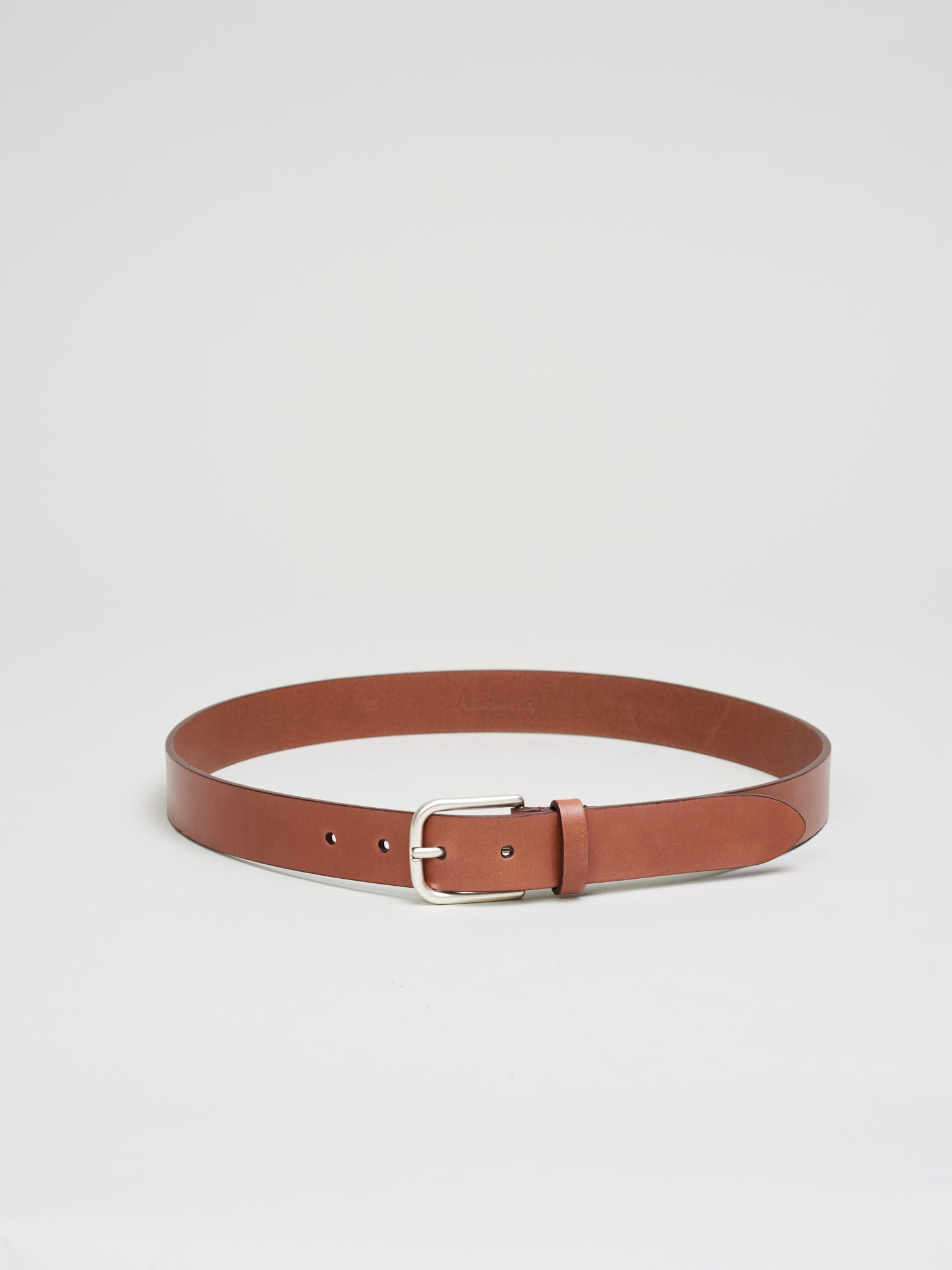 Leather Belt, Mid Brown - Goods