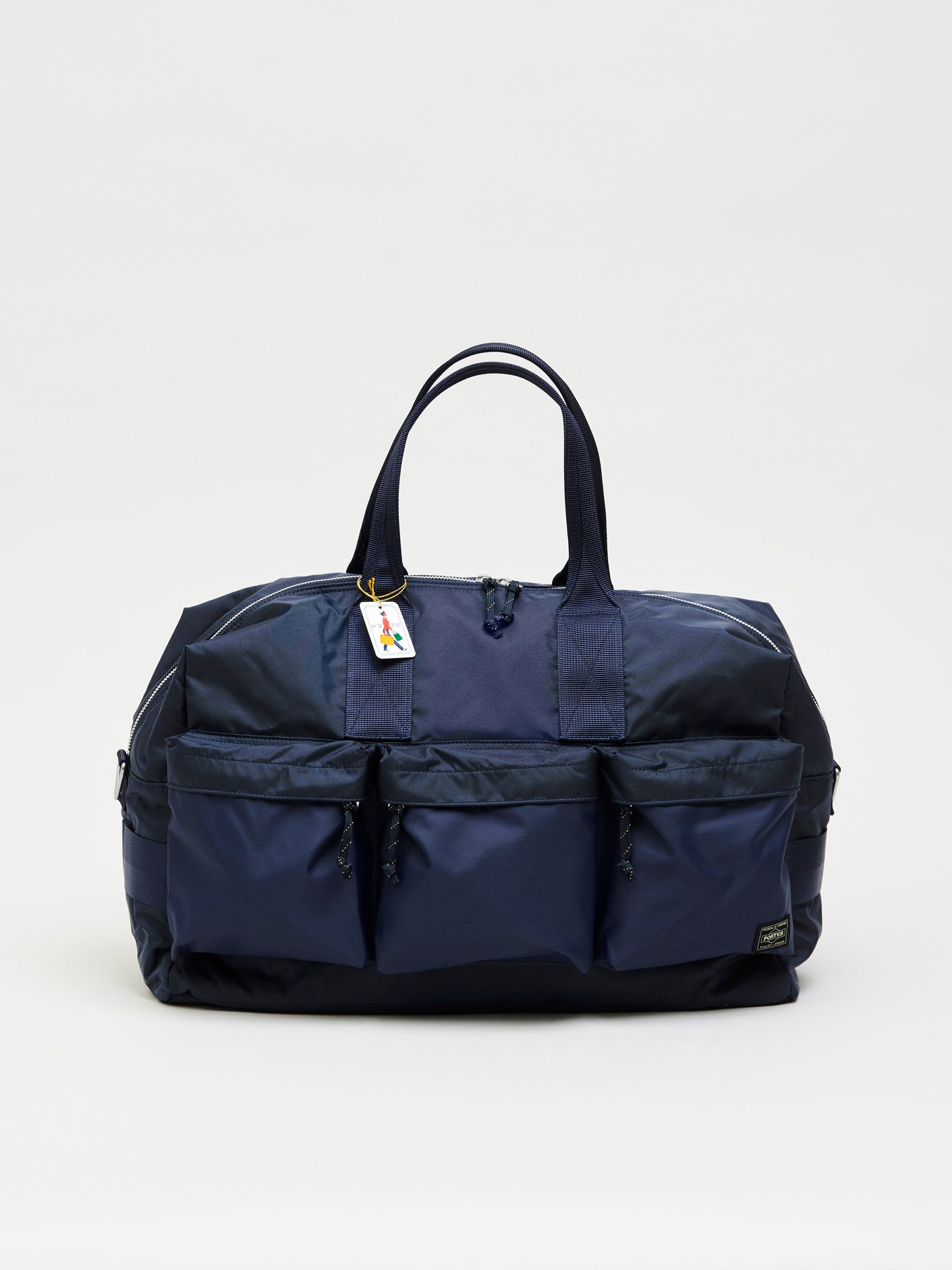 Force 2way Duffle Bag, Navy Blue - Goods