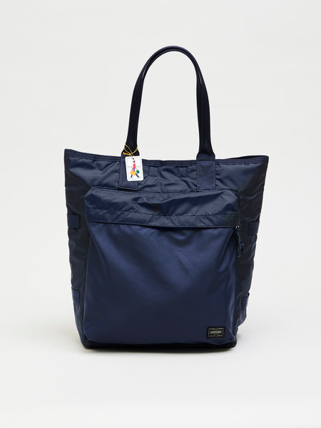 Force Tote Bag, Navy Blue - Goods