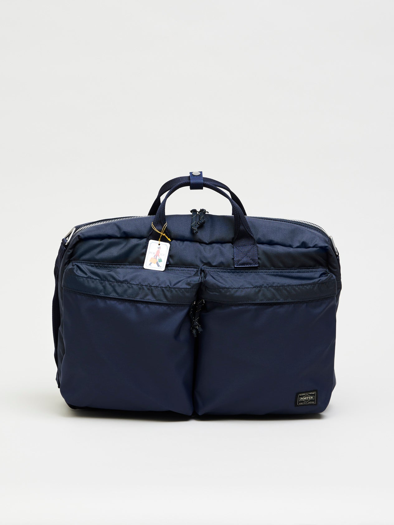 Force 3way Briefcase, Navy Blue - Goods