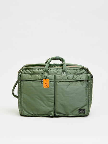 Tanker 3Way Briefcase, Sage Green