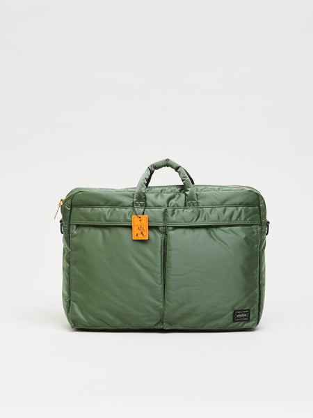 Tanker 2Way Briefcase, Sage Green