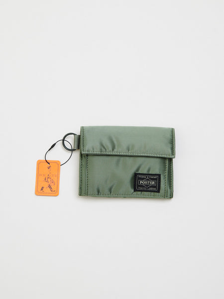 Tanker Wallet, Sage Green