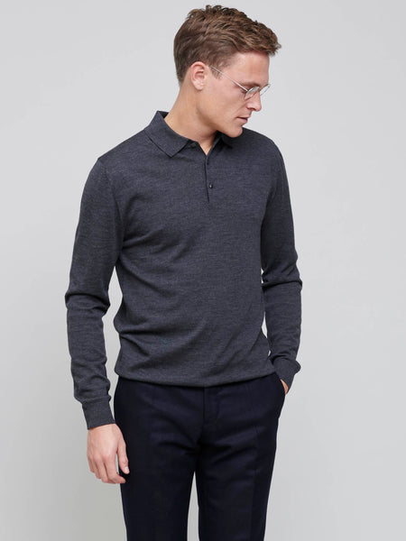 Isaac Merino Polo, Dark Grey