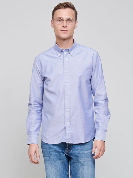New BD Shirt, Mid Blue Oxford
