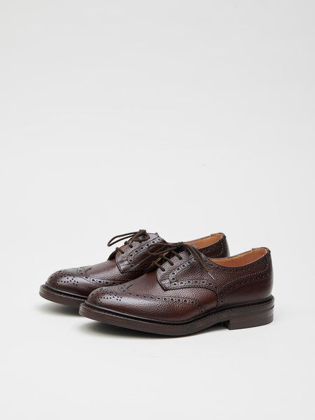 Woodstock Derby Leather Brogues, Espresso