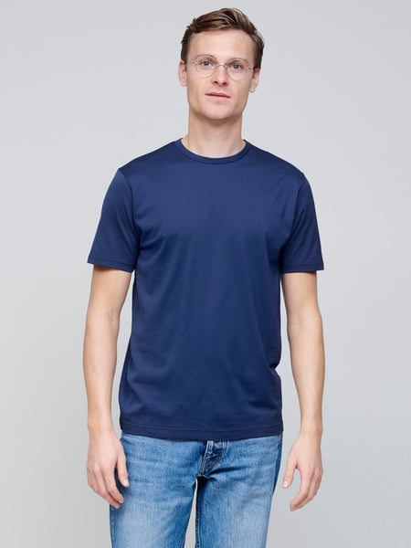 Cotton T-shirt, Navy