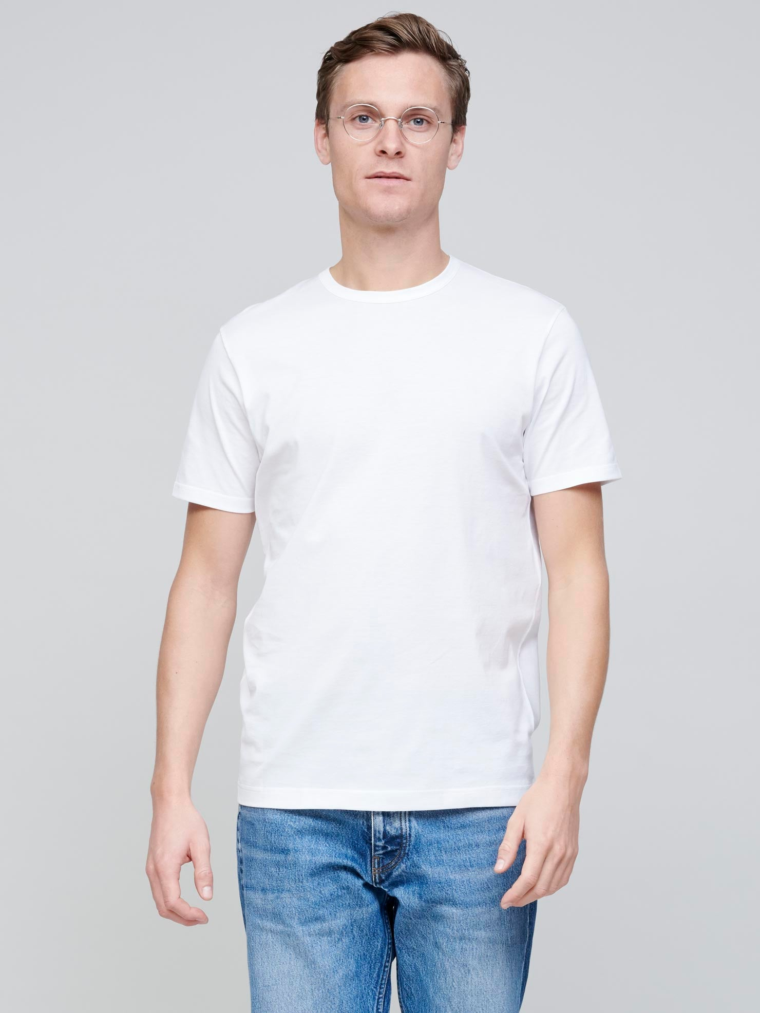 Cotton T-shirt, White