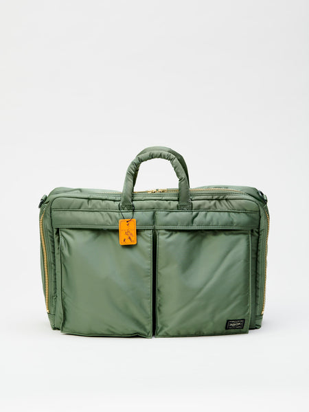 Tanker 2Way Briefcase - Full Business, Sage Green