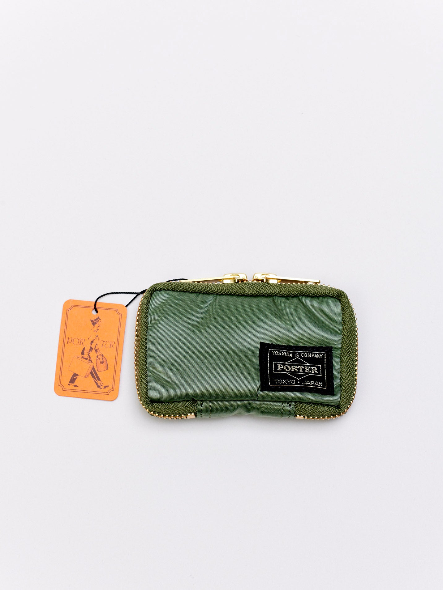 Tanker Key Case, Sage Green
