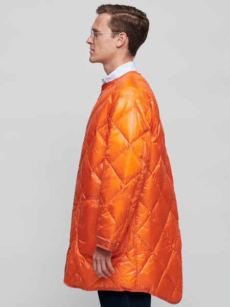 GT Liner Down Coat, Orange