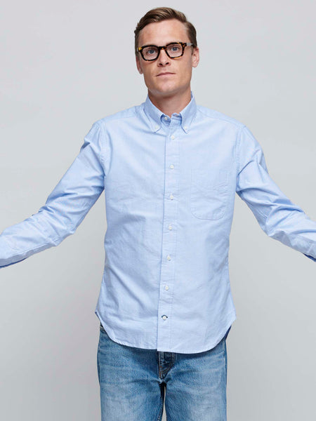 Oxford Shirt, Light Blue