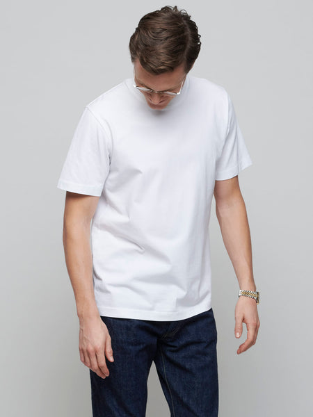 Supima Test Tee, White