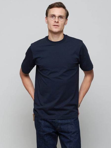 Supima Test Tee, Navy