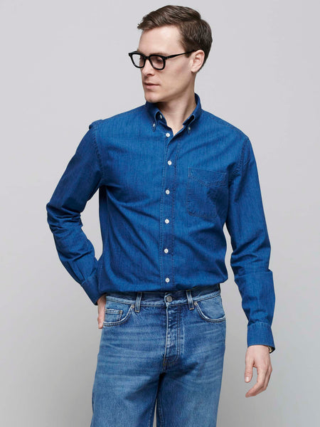 American BD Shirt, Chambray