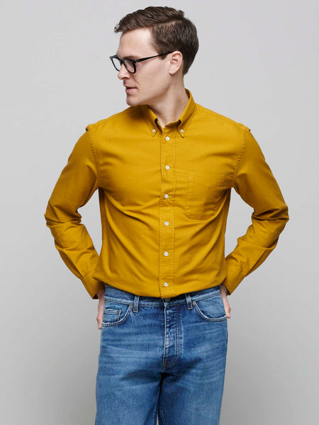 American BD Oxford Shirt, Ochre