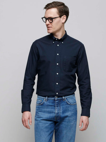 American BD Oxford Shirt, Navy