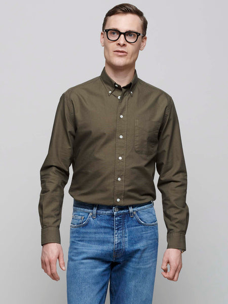 American BD Oxford Shirt, Army