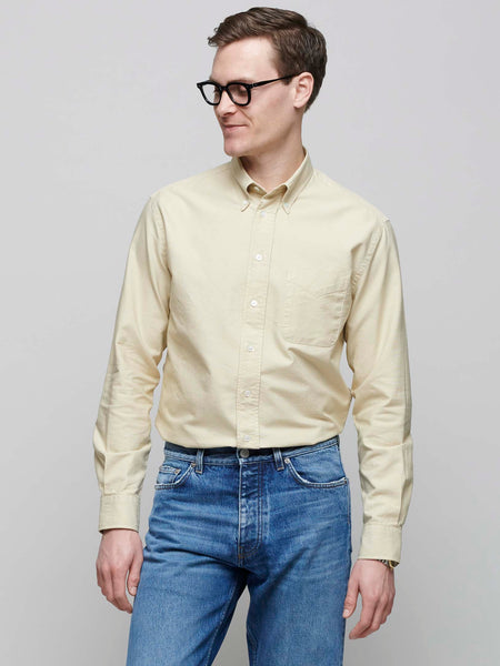 American BD Oxford Shirt, Beige