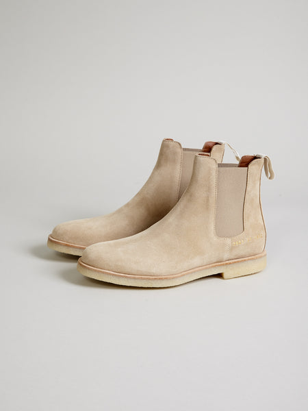 Woman Chelsea Boot, Tan Suede