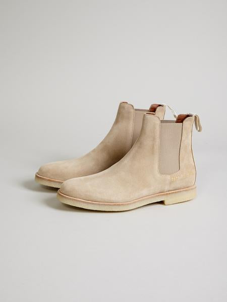 Loyalty Offer Women Chelsea Boot, Tan Suede - Goods