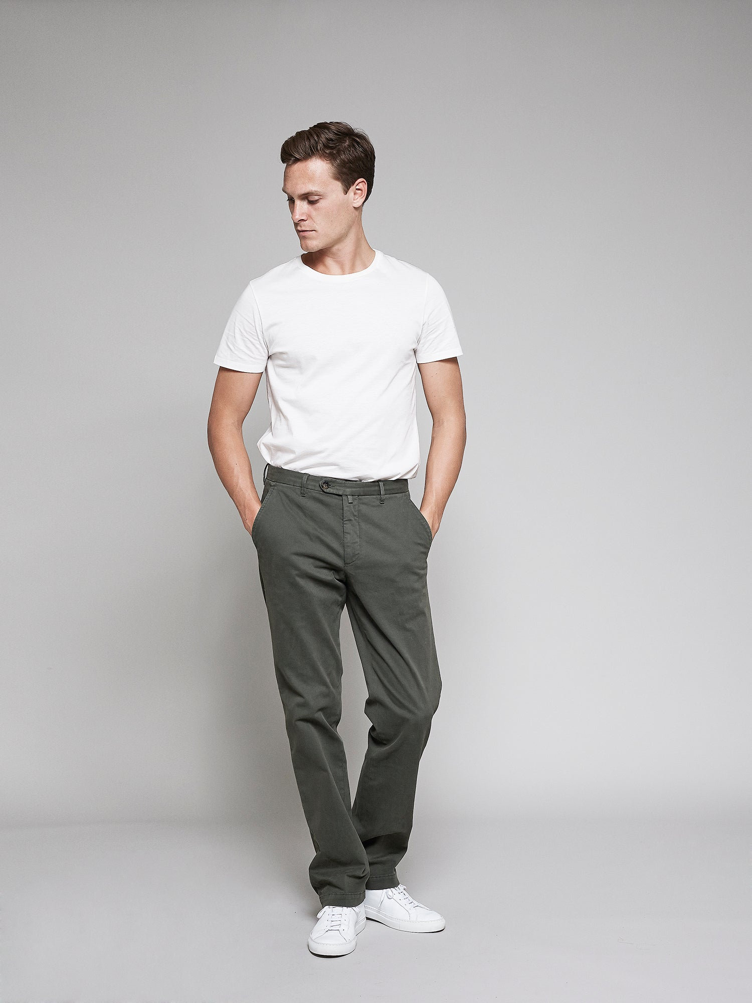 Standard Chino, Vintage Green - Goods
