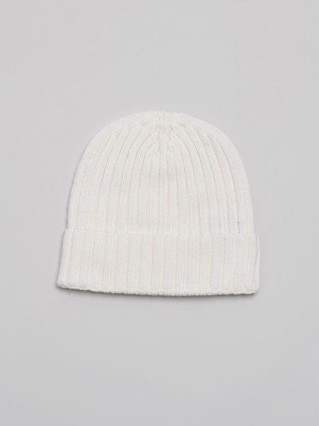 Cashmere Beanie, Off White - Goods