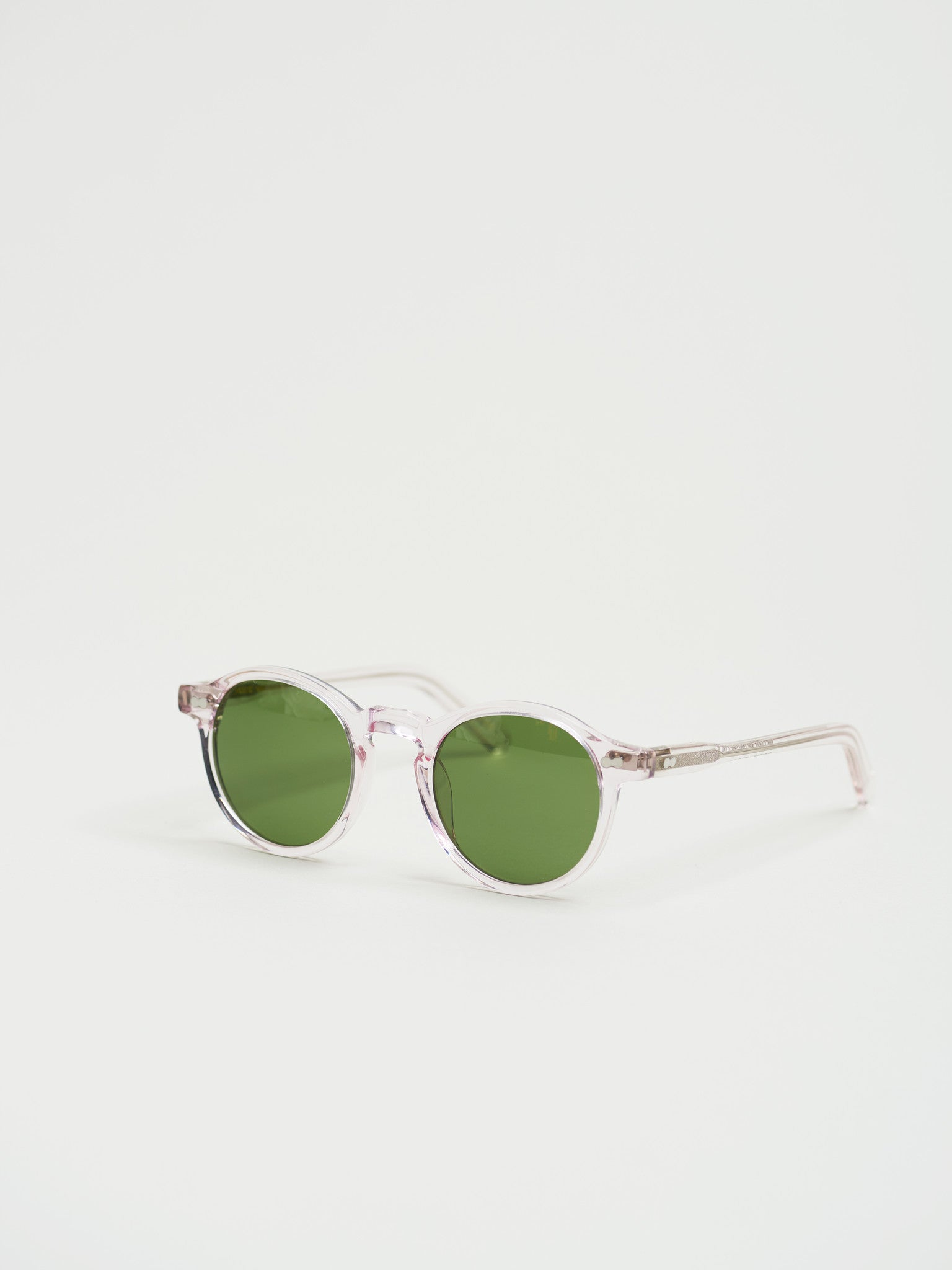 "Miltzen 46"", Blush with Green Lenses - Goods"