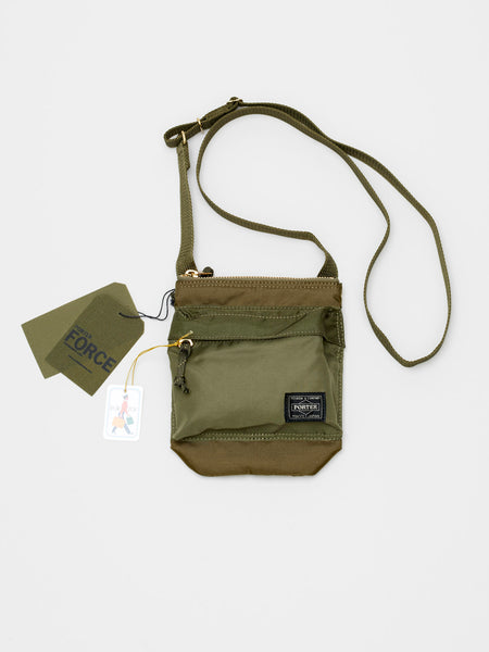 Force Shoulder Pouch, Olive Drab