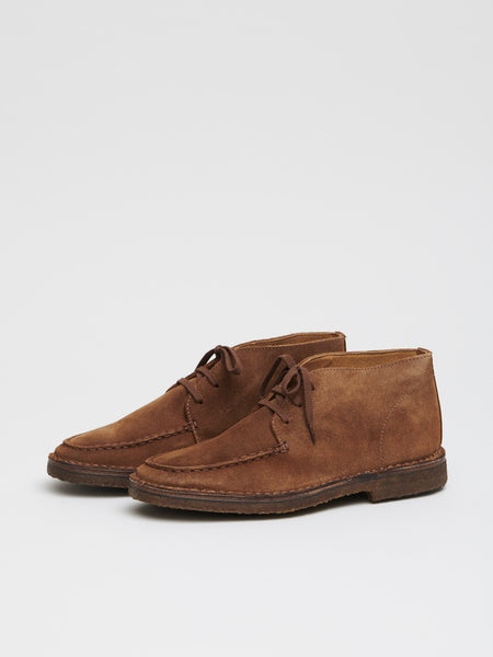 Crosby Moc-Toe Chukka Boot, Tobacco Suede