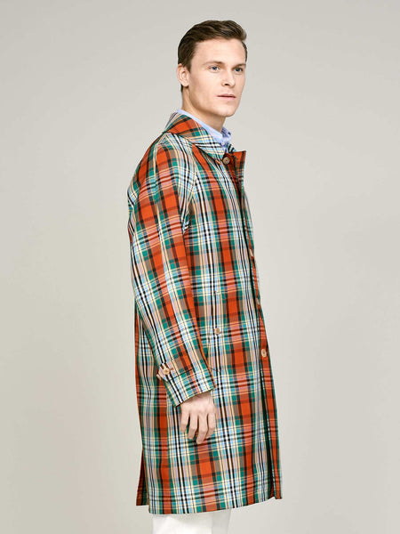 Overcoat, Multi Check